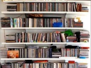 Bücher, DVDs und CDs