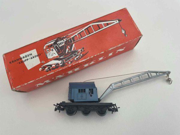 Märklin Kranwagen Krupp-Ardelt aus dem Jahr 1958